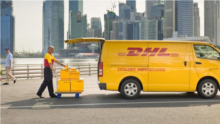 DHL франшиза