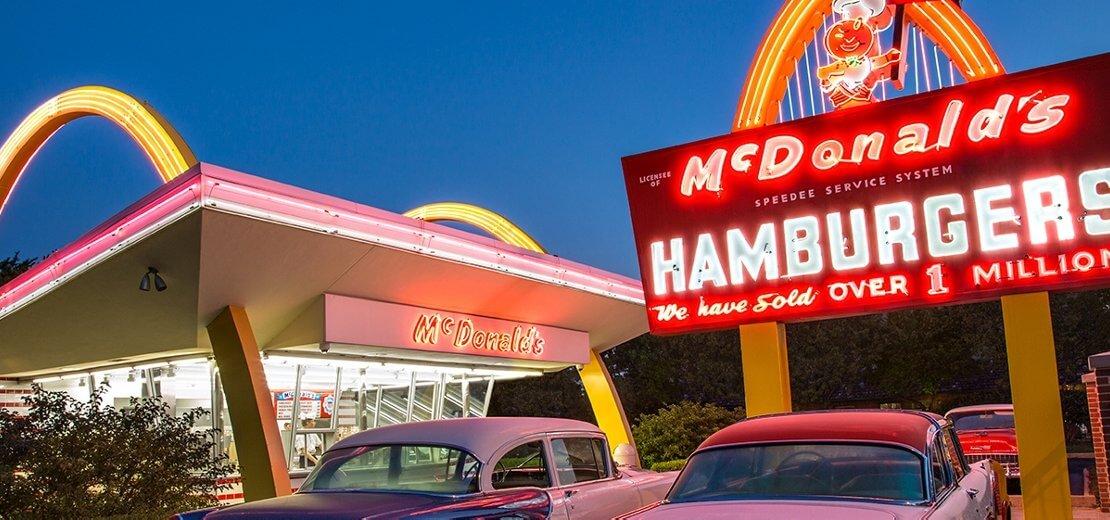 История McDonald's